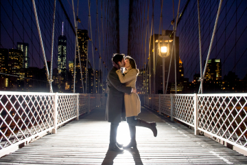 Nighttime Engagement Portraits_New York New York Engagement Photo Session_New York City Engagement Photo Session_CT Wedding Photographer_NYC Engagement Portraits0001