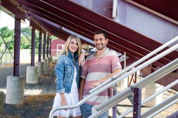 South Windsor CT Engagement Portraits_CT Wedding Photographer_Hartford CT Engagement Portraits_Outside Engagement Photo Session_Summer Engagement Portraits0001