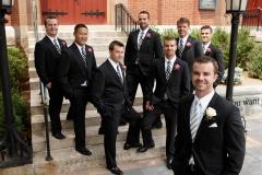 CT Wedding Portraits_Groomsmen Portraits_Outside Groom and Groomsmen Photos_Groomsmen Boutonniere_Groom Boutonniere0001