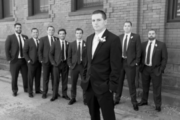 Marquee Ballroom Wedding_CT Marquee Ballroom Wedding_CT Marquee Wedding_G Fox Wedding_Wedding Portraits_Groomsmen Wedding Portraits_Outside Wedding Portraits_CT Wedding Photographer_CT Photographer_Black and White Wedding Portraits0001