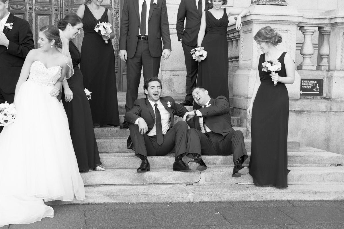 CT Wedding Photographer_Candid Wedding Portraits_Hartford City Hall Wedding Portraits_Hartford City Hall CT Wedding Portraits_GFox Wedding Portraits_G Fox Wedding Portraits_Black and White Wedding Portraits_Bridal Party Wedding Portraits0001
